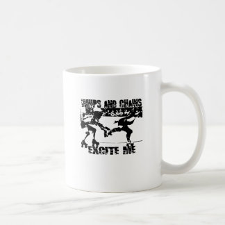 whips and chains excite me coffee mug