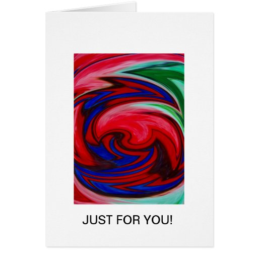 Whirl of Colours card designed by Aggelikis