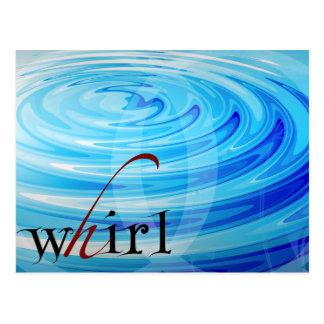 Whirl postcard