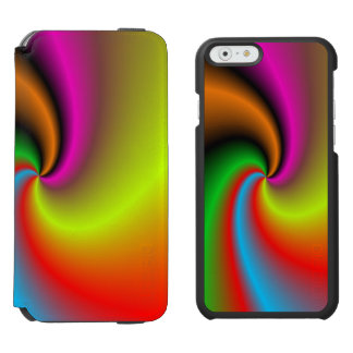 Whirl shapes pattern incipio watson™ iPhone 6 wallet case