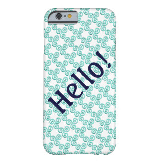 Whirl & Twirl Barely There iPhone 6 Case