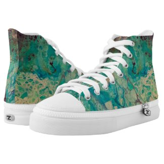 Whirldz High-Top Sneakers