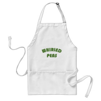 Whirled Peas Adult Apron