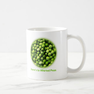 Whirled Peas - Comic T shirt Coffee Mug