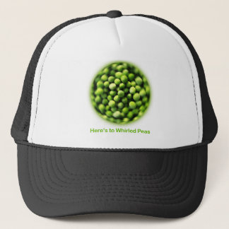 Whirled Peas - Comic T shirt Trucker Hat