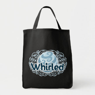Whirled Tote Grocery Tote Bag
