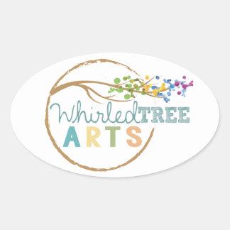 Whirled Tree Sticker
