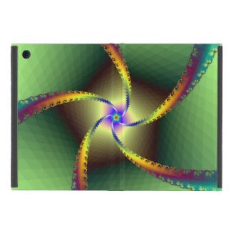 Whirligig in Green Cover For iPad Mini