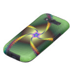 Whirligig in Green Samsung Galaxy SIII Cases