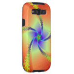 Whirligig in Red and Yellow Galaxy SIII Cases