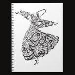 Whirling Dervish Notebook