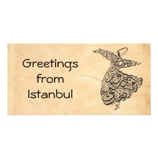 Whirling Dervish Picture Card