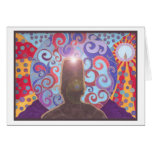 Whirling Dreamlight Greeting Card