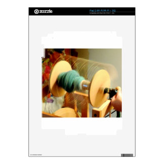 Whirling Lights of the Spinning Wheel Photograph Decal For iPad 2