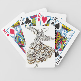 whirling sufi lines bicycle playing cards