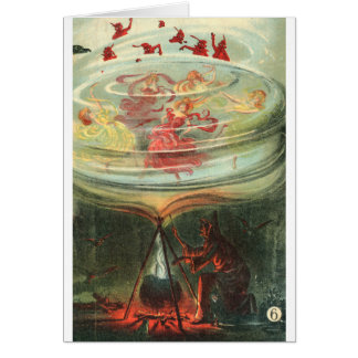 whirling witches card