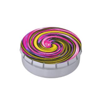 Whirlpool de la pintura jarrones de caramelos