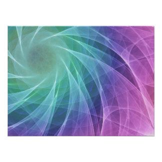 Whirlpool Diamond colorful Poster