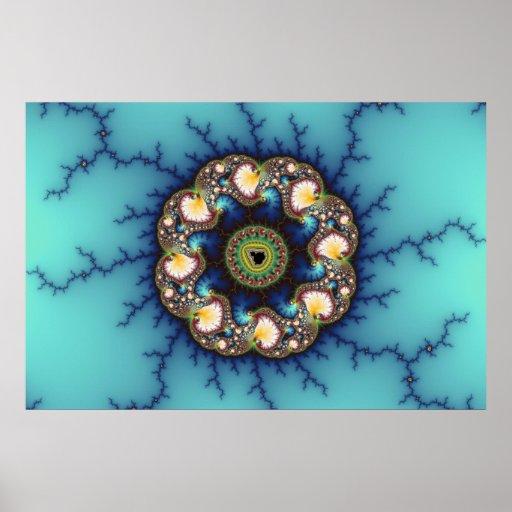 Whirlpool - Fractal Poster