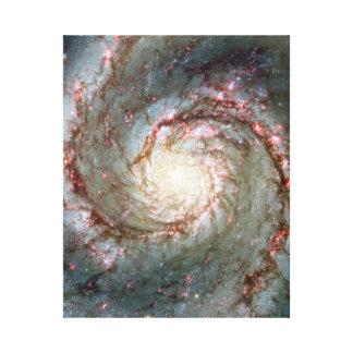 Whirlpool Galaxy Canvas Print