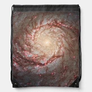 Whirlpool Galaxy Drawstring Backpack