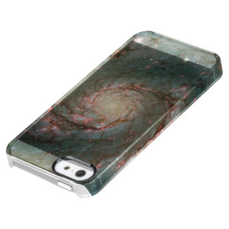 Whirlpool Galaxy Uncommon Clearly™ Deflector iPhone 5 Case