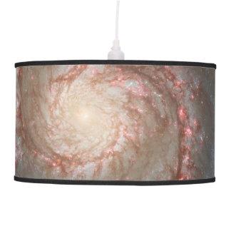 Whirlpool Galaxy (M51) and Companion Galaxy Pendant Lamps
