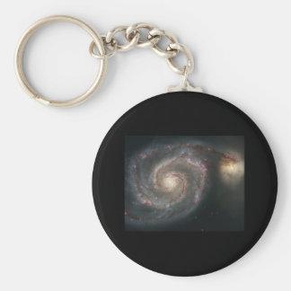 Whirlpool Galaxy (M51) Keychain