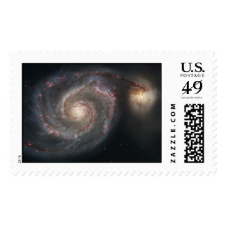 Whirlpool Galaxy (M51) Postage