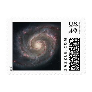 Whirlpool Galaxy (M51) Stamps