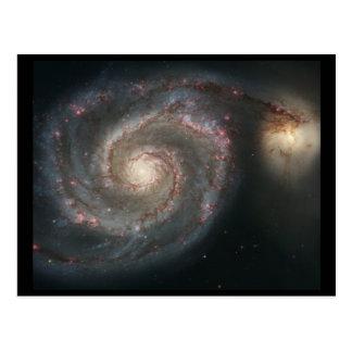 Whirlpool Galaxy (M51) Postcard