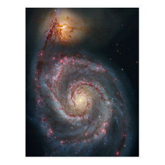 Whirlpool galaxy post cards