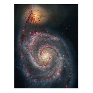 Whirlpool galaxy post cards