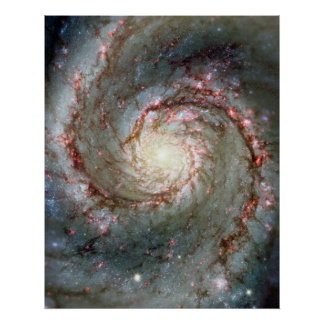 Whirlpool Galaxy Poster