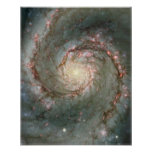 Whirlpool Galaxy Posters