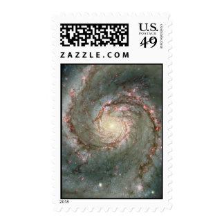 Whirlpool Nebula Heart Stamp