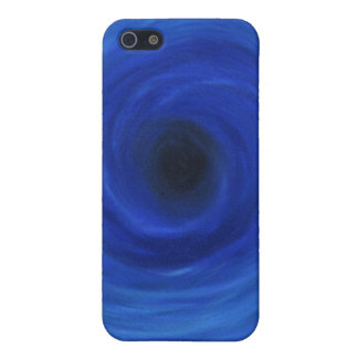Whirlpool of Blue iPhone Case Cover For iPhone 5