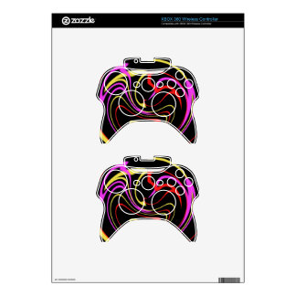 whirlpool of color xbox 360 controller skin