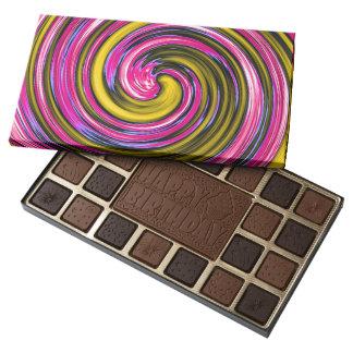 Whirlpool of Paint 45 Piece Box Of Chocolates