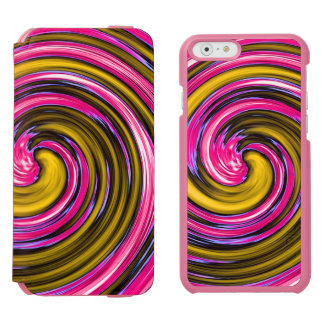 Whirlpool of Paint iPhone 6/6s Wallet Case