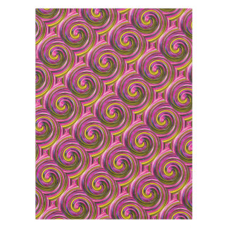 Whirlpool of Paint Tablecloth