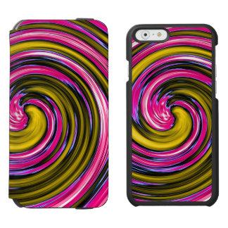 Whirlpool of Paint Incipio Watson™ iPhone 6 Wallet Case