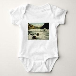 Whirlpool Rapids Niagara Falls New York 1898 Baby Bodysuit