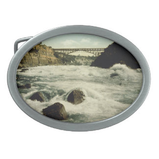 Whirlpool Rapids Niagara Falls New York 1898 Belt Buckles