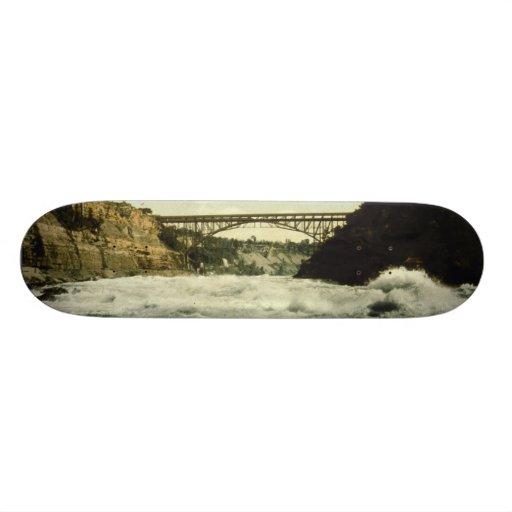Whirlpool Rapids Niagara Falls New York 1898 Skate Deck