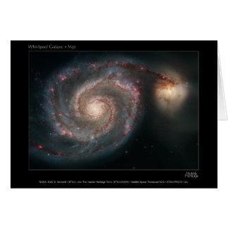 WhirlpoolGalaxy-M51-2005-12a Tarjeta De Felicitación