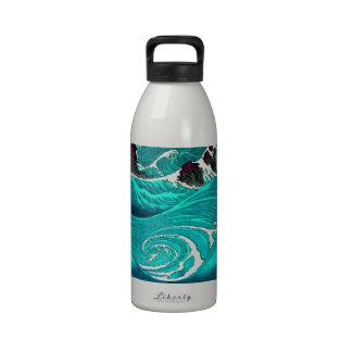 Whirlpools Utagawa Hiroshige. Drinking Bottles