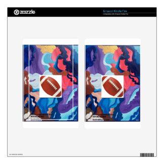 Whirlwind Football Kindle Fire Skins