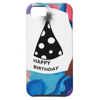 Whirlwind Happy Birthday iPhone SE/5/5s Case