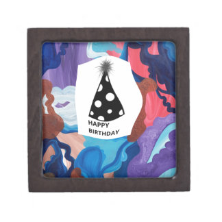Whirlwind Happy Birthday Jewelry Box